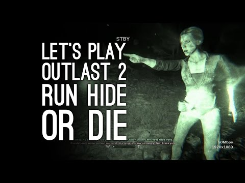 Outlast 2 Gameplay: Let's Play Outlast 2 On Xbox One - RUN HIDE OR DIE