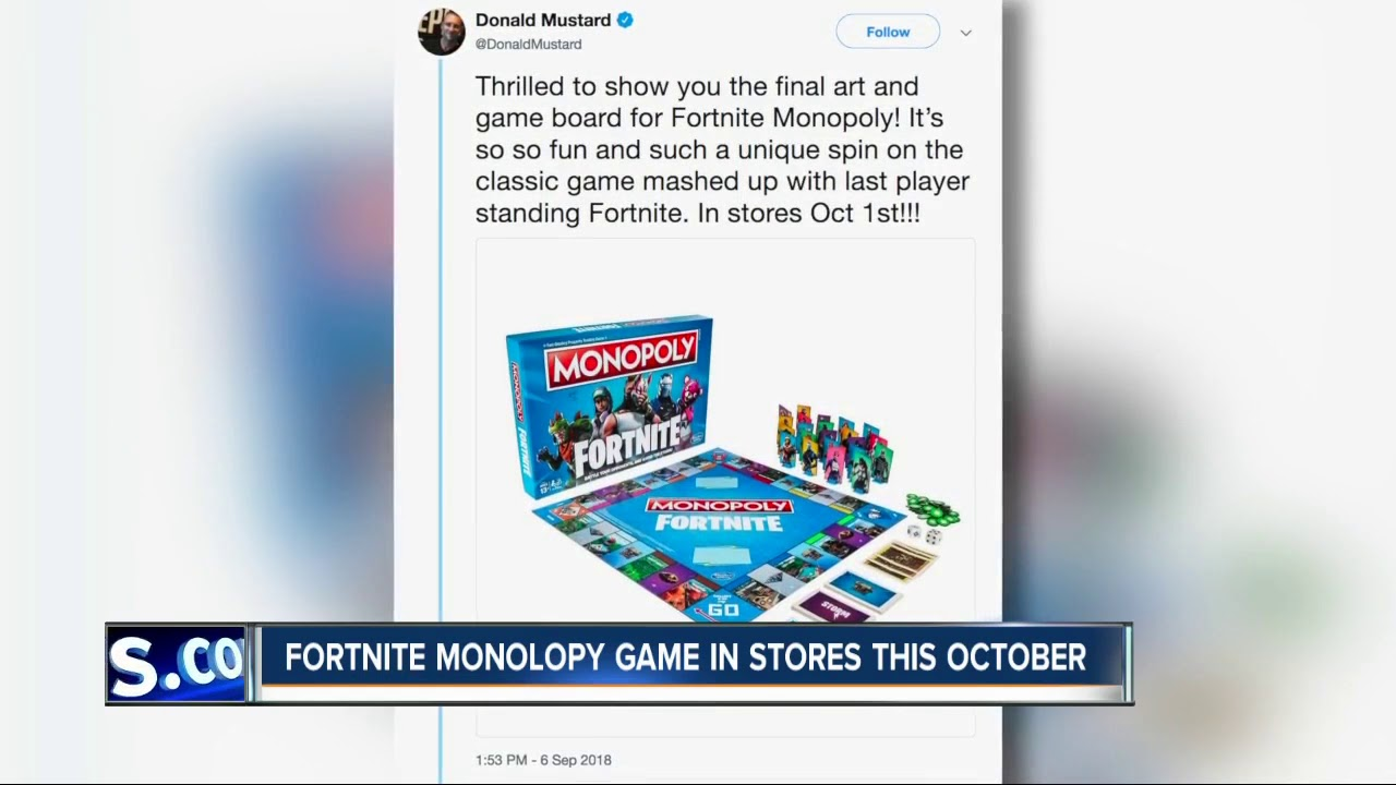Fortnite Monopoly Coming Soon Youtube