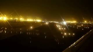 S7 Airlines A320-214 flight S7516 night taxiing, takeoff and departure from Beijing Capital(Taxiing from stand 510 via TWY Y4, TWY T2, TWY A1, RWY 18L/36R, TWY A1, TWY F, TWY Z2, TWY P0, takeoff from RWY 36L of Beijing Capital airport and ..., 2016-10-26T02:07:13.000Z)