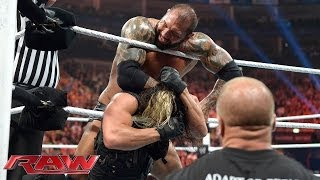 Seth Rollins vs. Batista: Raw, May 19, 2014