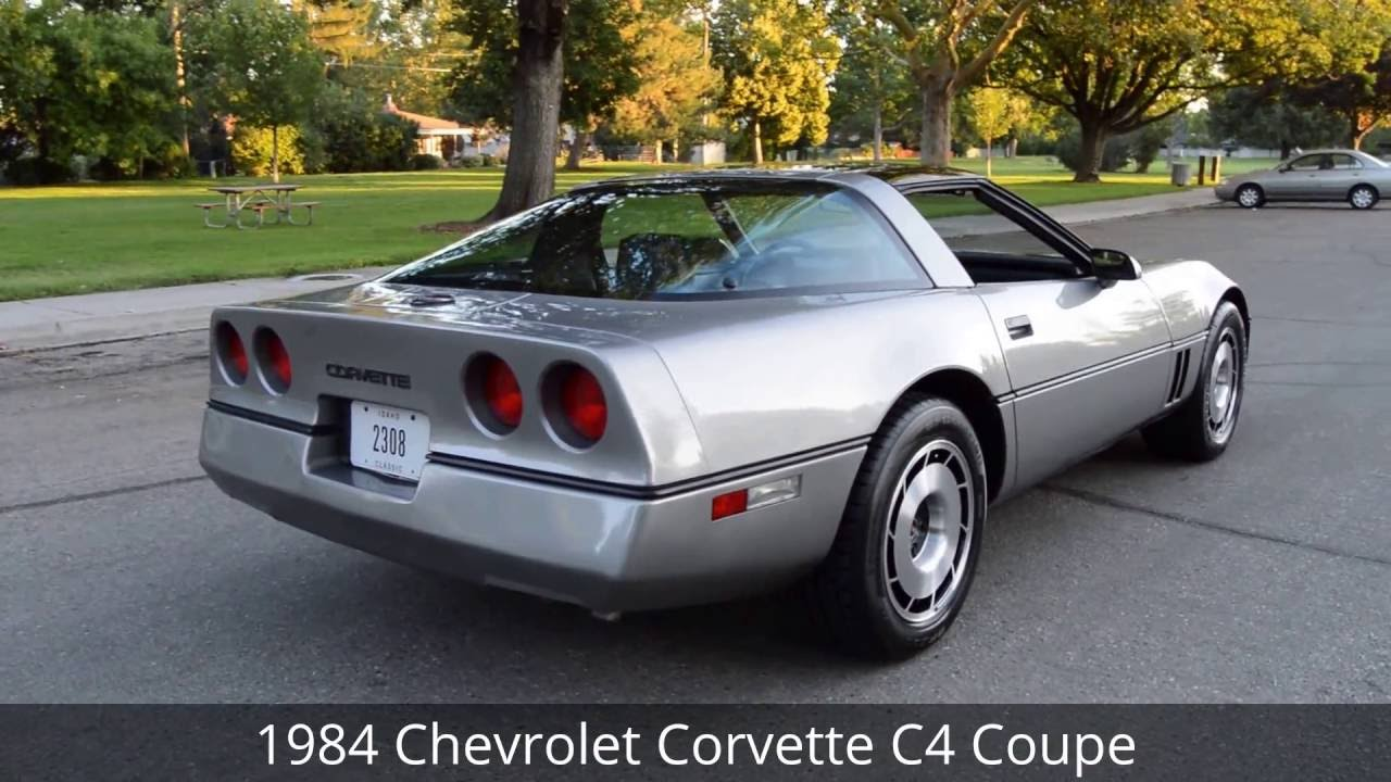 1984 chevrolet corvette c4 coupe ross 39 s valley auto. Black Bedroom Furniture Sets. Home Design Ideas