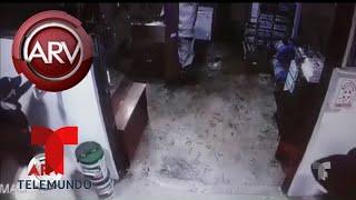 Captan en video asalto a exclusivo hotel en Perú | Al Rojo Vivo | Telemundoc