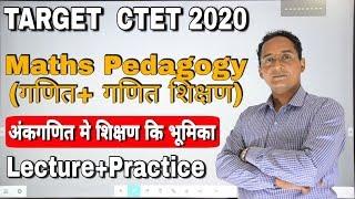 CTET Maths  06| CTET 2020 |अंकगणित मे शिक्षण कि भूमिका  Paper|CTET MATHS pedagogy/CTET MATHS CLASS