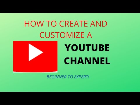 HOW TO CREATE A YOUTUBE CHANNEL 2020