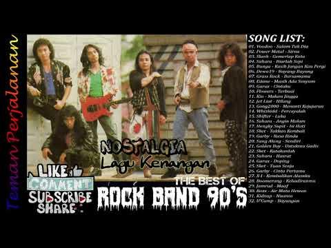 Kompilasi Terbaik Rock Band Indonesia Hits 90an Teman Perjalanan