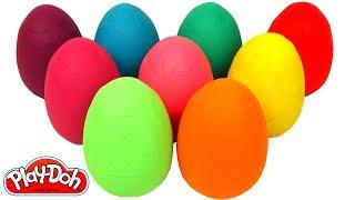 Aprenda Cores com 9 Ovos Surpresas em Português Brasil de Massinha Play Doh