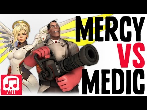 Thumbnail: MERCY VS MEDIC RAP BATTLE by JT Machinima