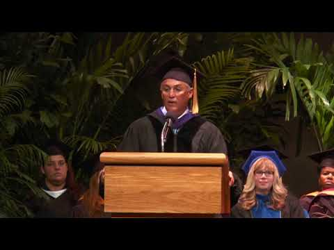 Darin Colucci, Motivational Speaker, Speaks at City College Fort Lauderdale  Graduation