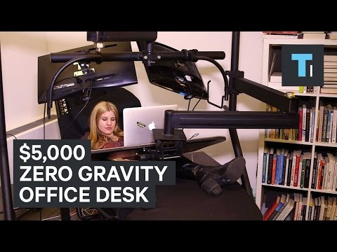 $5,000 zero gravity office desk