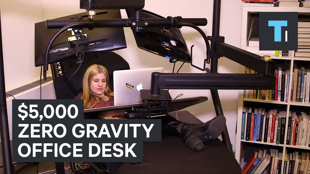 5000 zero gravity office desk  YouTube