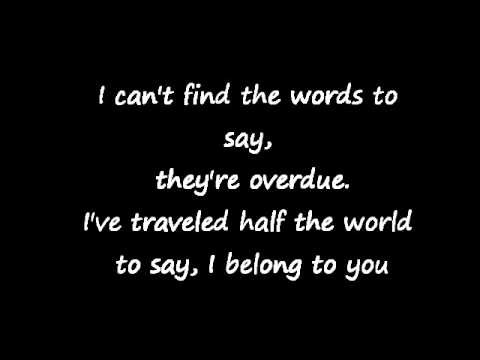 Muse~ I Belong to You (Lyrics)