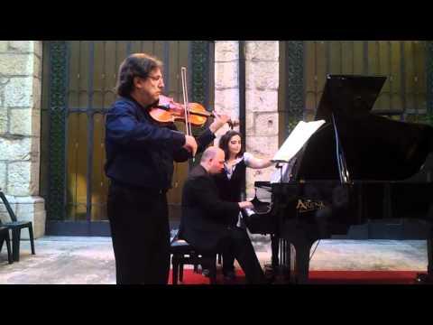 Franco Mezzena - David Boldrini | Mozart sonata KV 304 (I parte)