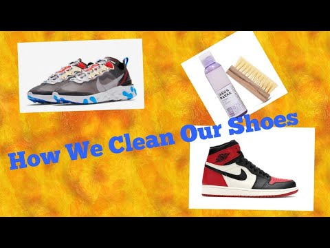 How We Clean Our Rare Sneakers | Jacquelyn And Josh
