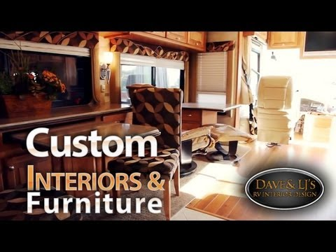 RV Interior Remodeling  Dave and LJs  YouTube