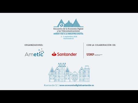 Vídeo resumen 32º Encuentro de la Economía Digital y las Telecomunicaciones, Santander #santander32