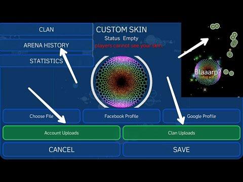Nebulous 1.6  - New Update : Public Custom Skin  + Customized Shoot Blobs