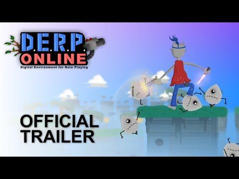 DERP Online - Official Game Trailer - 2017