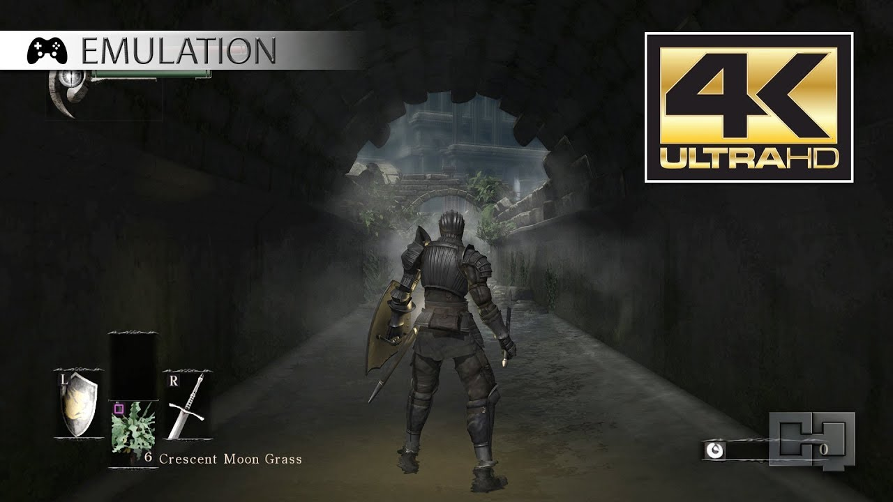 RPCS3 (PS3 emulator, v  0 0 5-d0d5761e) - Demon's Souls (4K - 30 fps)  [6-IV-2018]