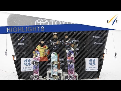 Highlights | Kim holds off a Chinese threat in Copper Half Pipe | FIS Snowboard