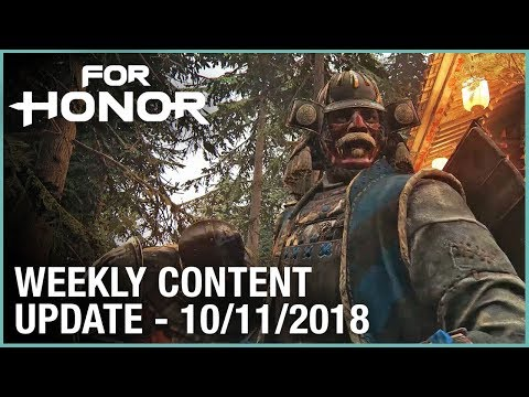 For Honor: Week 10/11/2018 | Weekly Content Update | Ubisoft [NA]