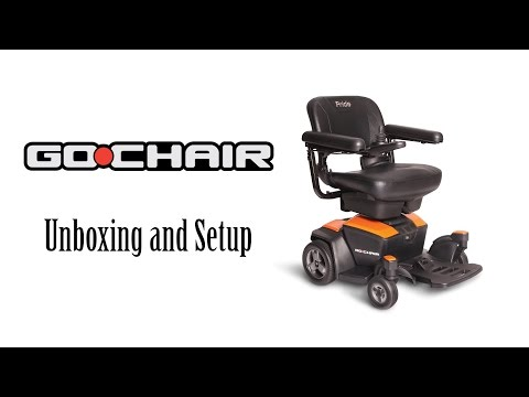 Go-Chair Unboxing and Set Up from Pride Mobility® להורדה