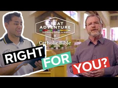 The Great Adventure Catholic Bible Review - Why you SHOULDN'T get it!