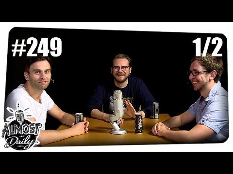 [1/2] Almost Daily #249 mit Etienne, Fabian und Andreas | Thema: Gamescom | 14.08.2016