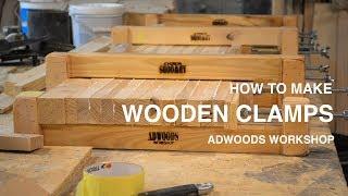 Video HOW TO MAKE WOODEN CLAMPS | ADWOODS WORKSHOP download MP3, 3GP, MP4, WEBM, AVI, FLV September 2018