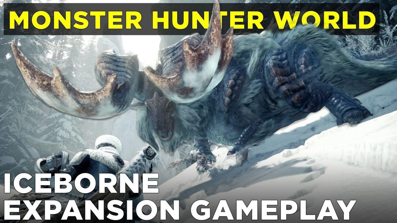 Monster Hunter: World Iceborne expansion: E3 2019 gameplay