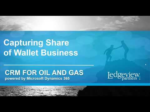 Using CRM to Create and Manage Share of Wallet Opportunities - Oil and Gas Industry