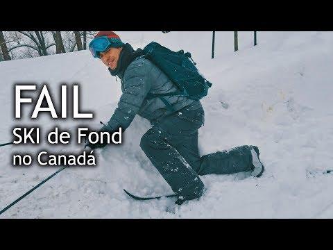 Ski de fond - em Montreal, Canada