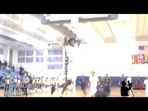 Douglas County High School plays hard vs Mays High School winning 58-52!!!