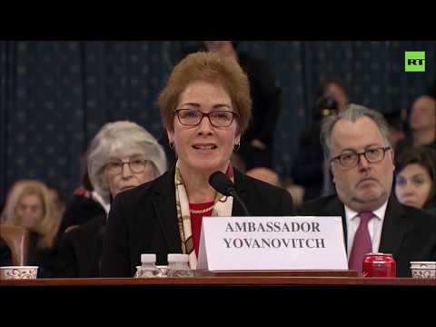 Ex-US Envoy: No proof of criminal wrongdoing by Trump in Ukraine