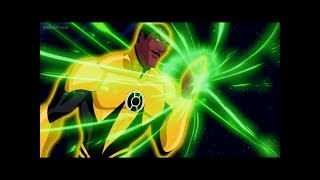 Sinestro's attack on Oa part 1/2 (Green Lantern: First Flight)
