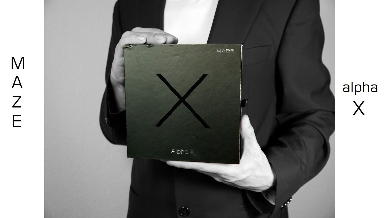 maze alpha x top bezelless smartphone im unboxing kurztest youtube. Black Bedroom Furniture Sets. Home Design Ideas
