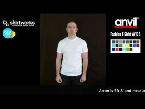 Anvil Fashion Basic T-Shirt Av105