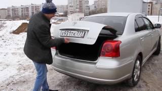 обзор Toyota Avensis. Новогодний выпуск