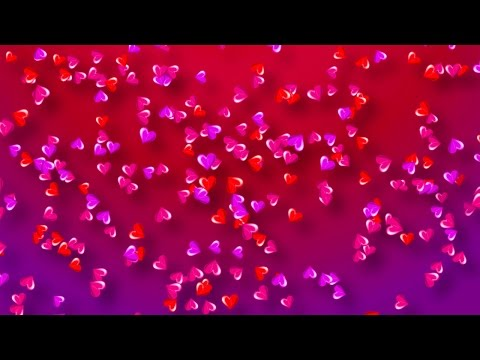 Colorful Hearts Background for Valentine's Day/Love/Romance