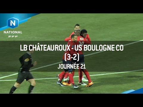 J21 : LB Châteauroux – US Boulogne CO (3-2), le résumé