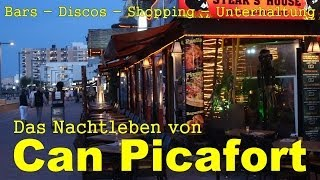 Can Picafort Nightlife - Bars, Shopping und Unterhaltung