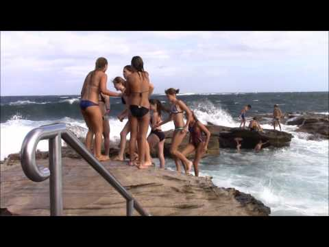 Giles Baths (Coogee Rock Pool), Sydney, New South Wales, Aus