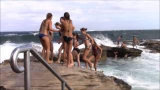 Giles Baths (Coogee Rock Pool), Sydney, New South Wales, Australia