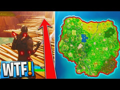 ONLY 1% Of Players Know This SECRET WAY AROUND THE MAP In Fortnite: Battle Royale...!