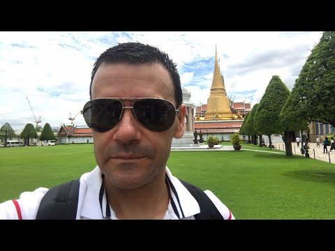 Desde el palacio del rey en Tailandia