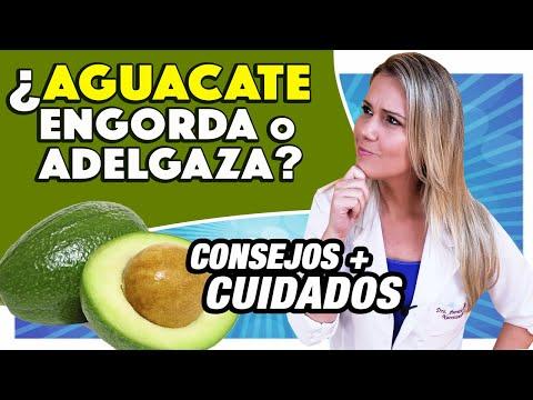 Comer aguacate engorda o adelgaza