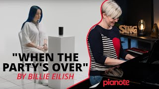 """""""When The Party's Over"""" Piano Tutorial & Cover (Billie Eilish)"""