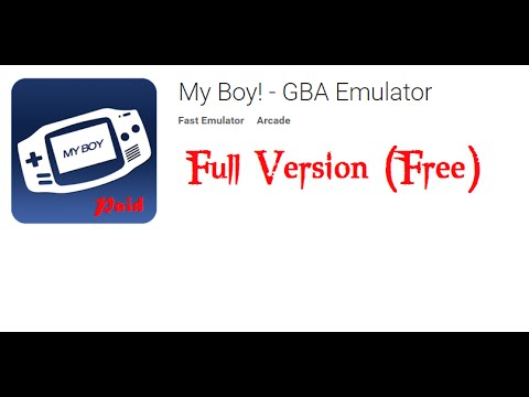 My boy! Gba emulator apk latest version 2018 free download.