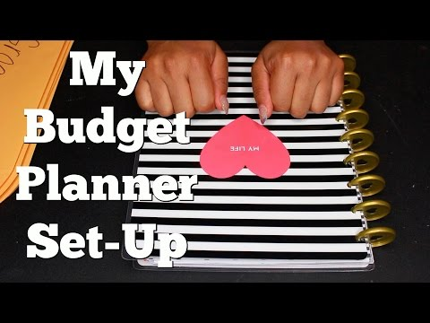 Basic Budget Planner Set-Up | Keep Your Finances Organized Using The Happy Planner