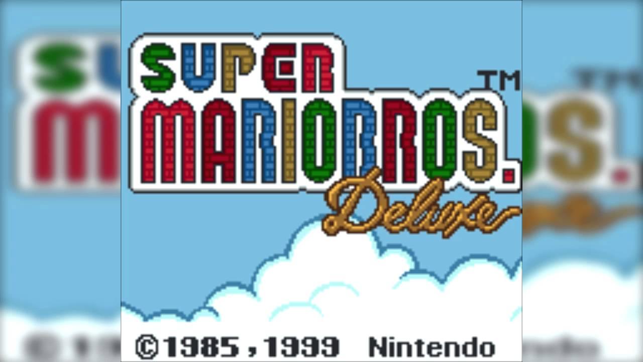 Game boy color super mario bros deluxe - The Best Of Retro Vgm 746 Super Mario Bros Deluxe Game Boy Color Staff Roll