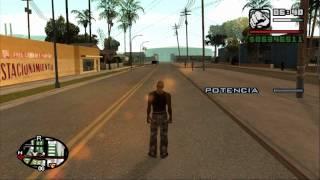 Como correr super rapido, volar, hacer un kamehameha y teletransportarse en GTA San Andreas.